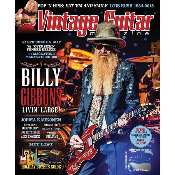 Vintage Guitar Magazine - January 2019