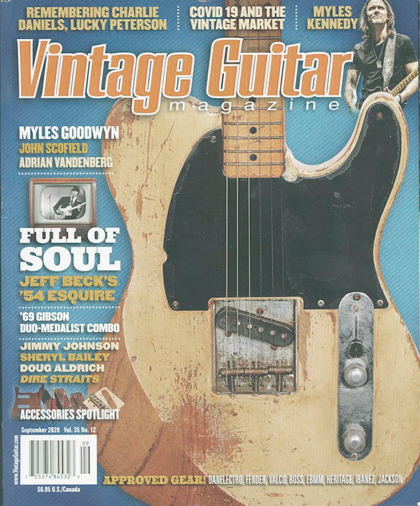 Vintage Guitar Magazine - September 2020