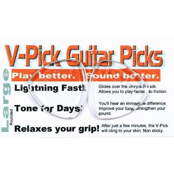 V-Picks Large Rounded Pick, 3.0MM