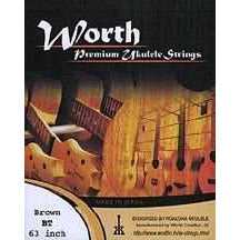 Worth BT Brown Tenor Ukulele Set