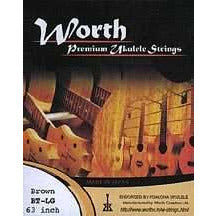 Worth BT-LG Brown Tenor Ukulele Set with Low G