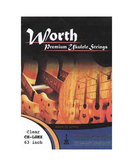 Worth CH-LGEX Heavy Uke Set for Low G Tuning