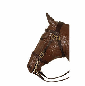 Traditional Portuguese bridle with square buckles 0808