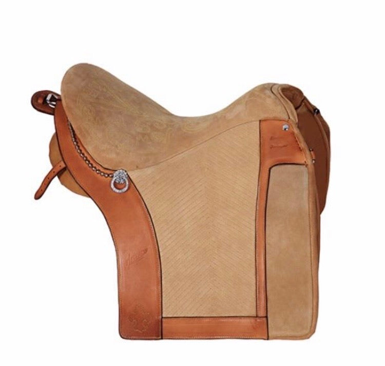 0110 Selim Miguel Fonseca Portuguese working equitation saddle
