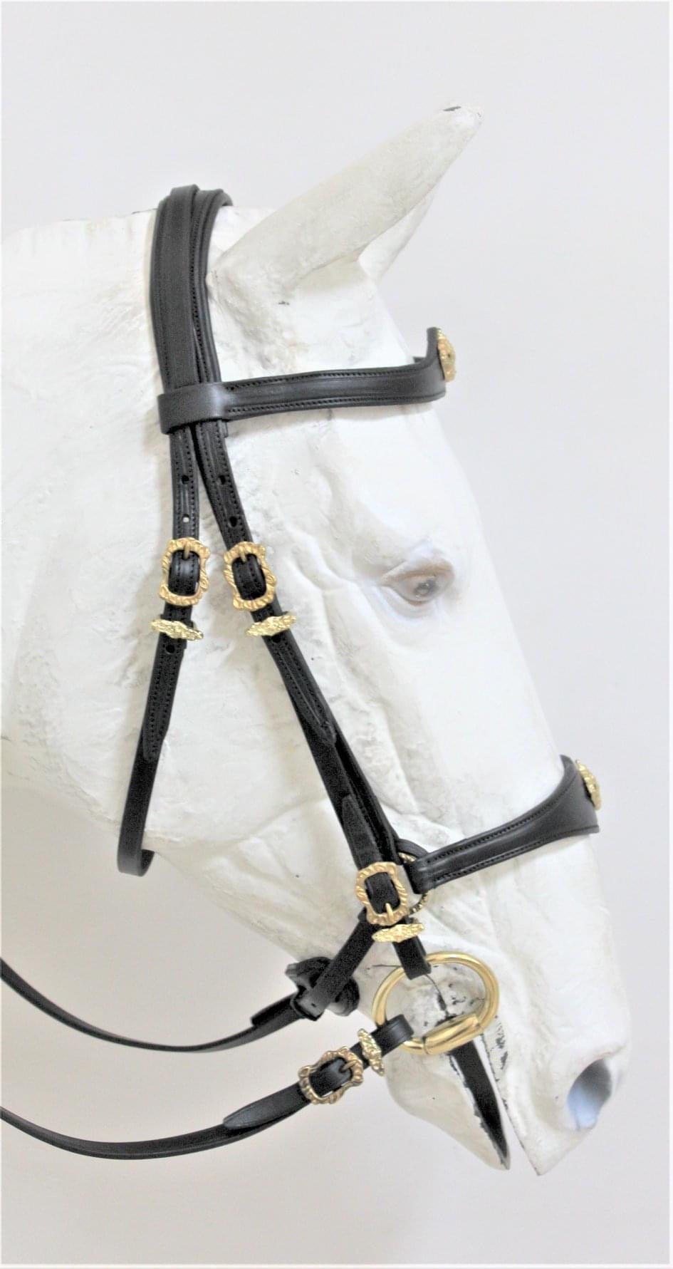 "B0915 ""Crown"" single bridle by VMCS"