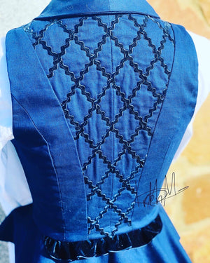 Custom Tailored waistcoat designed and made in Spain