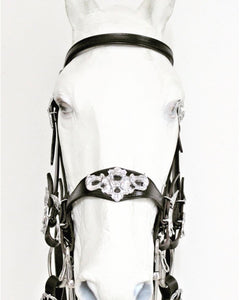 "B0905 VMCS ""Ornament"" Double bridle without throat latch"