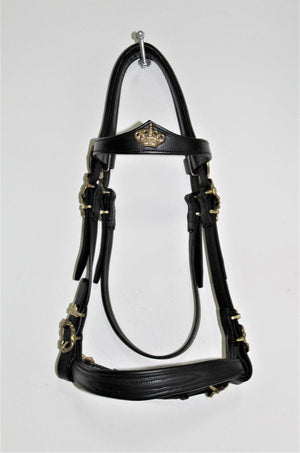 "Handcrafted ""Military"" Bridle from VMCS"