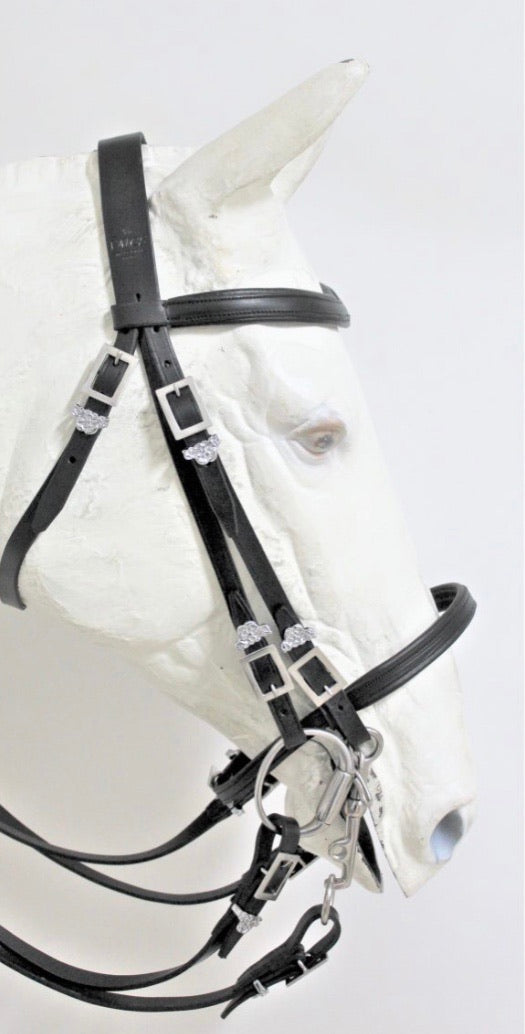 B0904 Portuguese double bridle