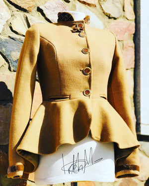 Custom Tailored riding jacket made in Spain