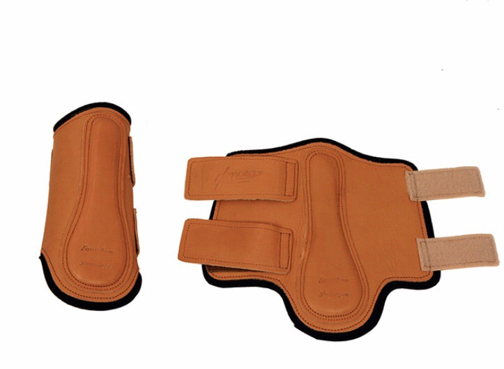 Handcrafted European Leather Tendon Boots