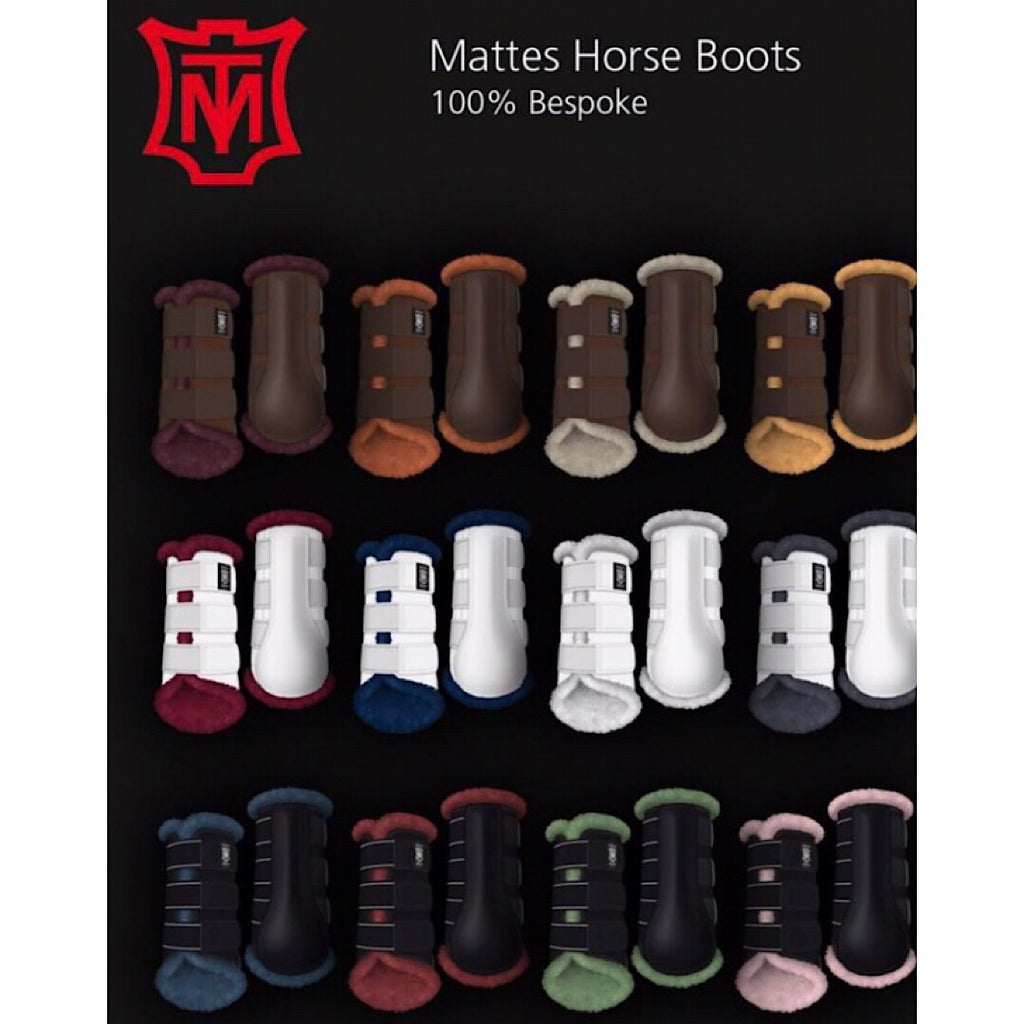EA Mattes Professional Dressage Boots with lambskin lining