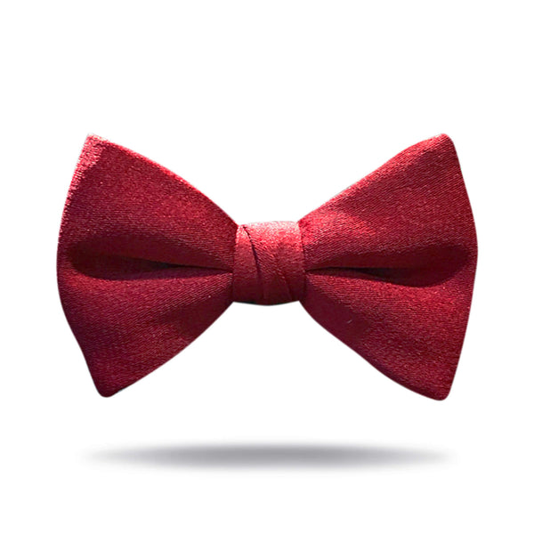"""Mississippi"" Maroon Bow Tie"