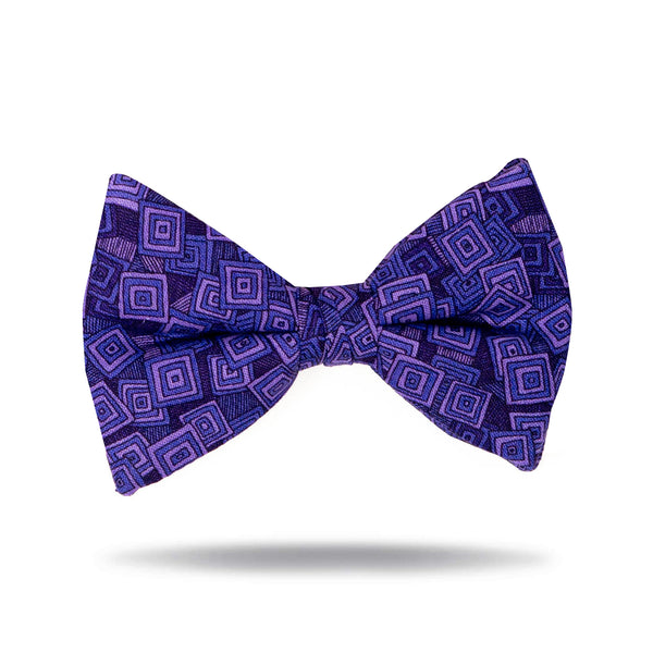 """Purple Hopscotch"" Tie"
