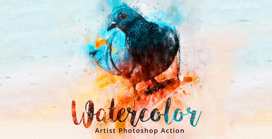 30 Best Water Color Actions 2019