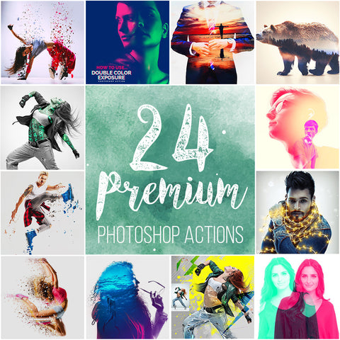 24 Photoshop Actions