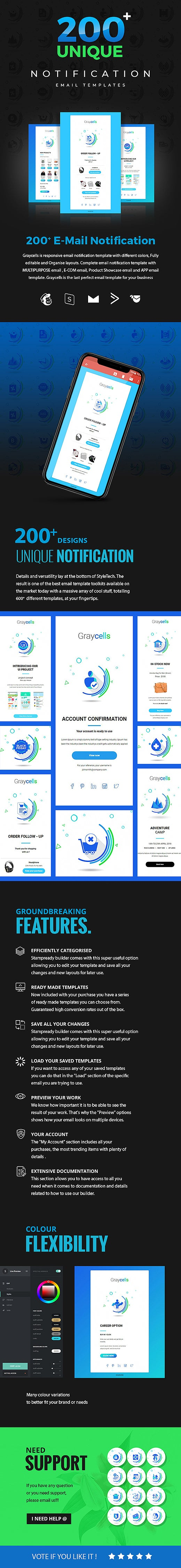 graycells-200-multipurpose-email-notification-templates