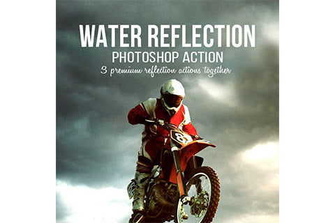 3-in-1 Water Reflection Photoshop Action