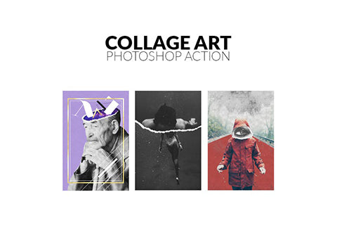 Collage Art Photoshop Action