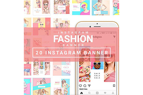 20 - Fashion Instagram Banners – 1