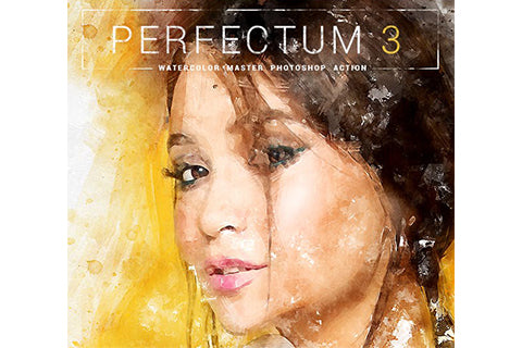 Perfectum 3 - Watercolor Master Photoshop Action