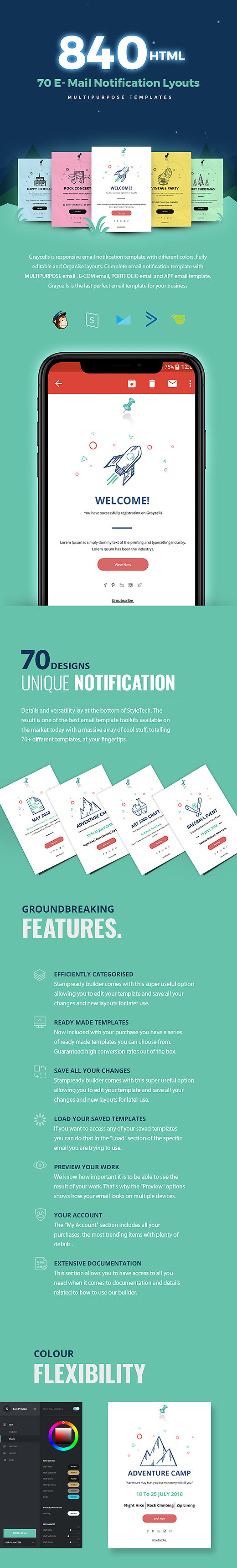 graycells-responsive-email-notification-template
