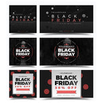 100 - Black Friday Facebook Banners - watercoloraction