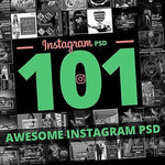 101 – Instagram Banners 4.00 watercolor action