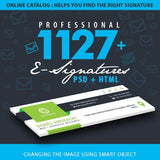 Professional 1127 Signatures - photoshop action