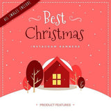 15 - Christmas Instagram Banners 4.00 watercolor action