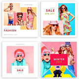20 - Fashion Instagram Banners - 1 - photoshop action