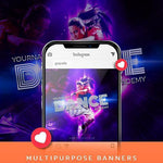 20 - Multipurpose Instagram Banners 4.00 watercolor action