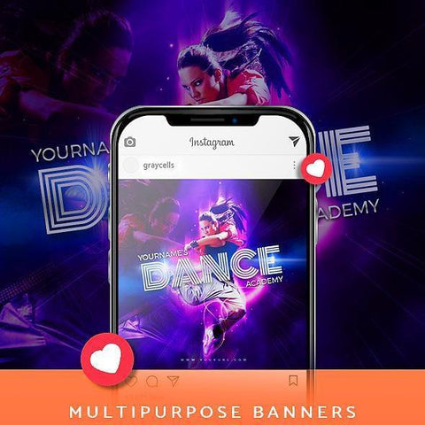 20 - Multipurpose Instagram Banners - photoshop action