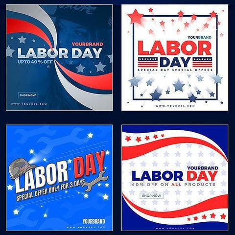 26 - Labor Day Instagram Banners