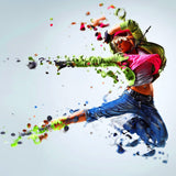 PHOTOSHOP ACTION 4 IN 1 DISPERSION - photoshop action