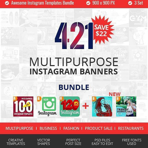 421 Instagram Promotional Bundle