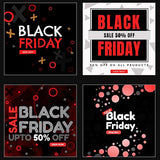 50 - Black Friday Instagram Banners - watercoloraction
