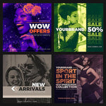 50 - Duotone Instagram Banners - photoshop action