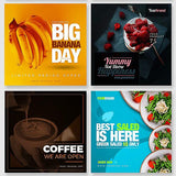 50 - Food Instagram Banners - photoshop action