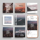 50 - Instagram Banners - photoshop action
