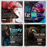 101 – Instagram Banners - photoshop action