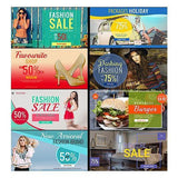 100 - Multipurpose Facebook Banners - watercoloraction