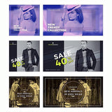 100 - Fashion Facebook Banners - photoshop action