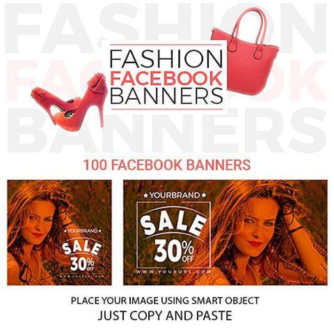 100 - Fashion Facebook Banners