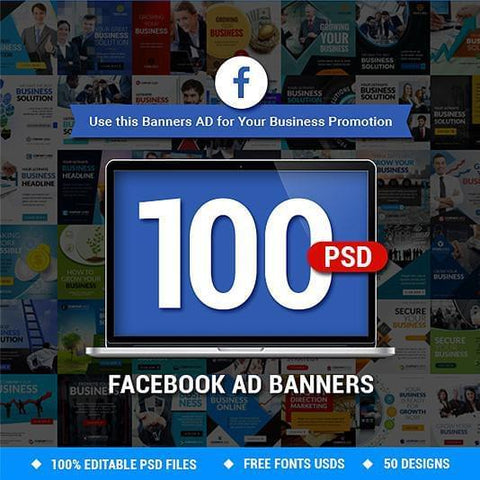100 - Facebook Business Banners