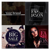 20 - Fashion Facebook Promotion Banners - watercoloraction