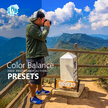 Free Photoshop Action Color Balance