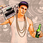 Grand Theft Art Photoshop Action - photoshop action