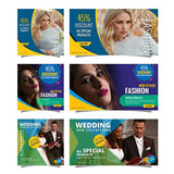 Facebook Ad Banners (Vol-3) - 250 - photoshop action