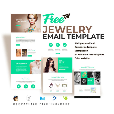 Free Jewelry Email Template